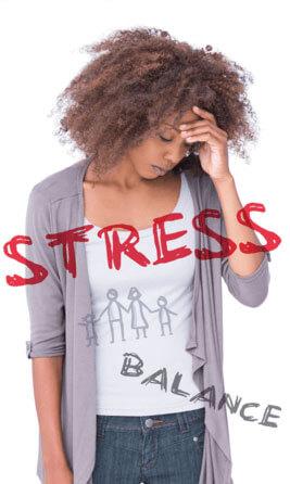 stressed adult